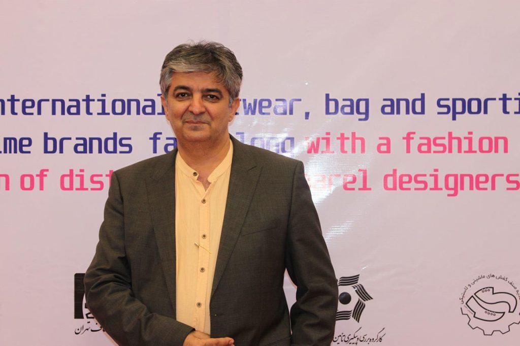 افشین شادی مهر- مدیر مسئول مجله اخبار صنعت چرم و کفش