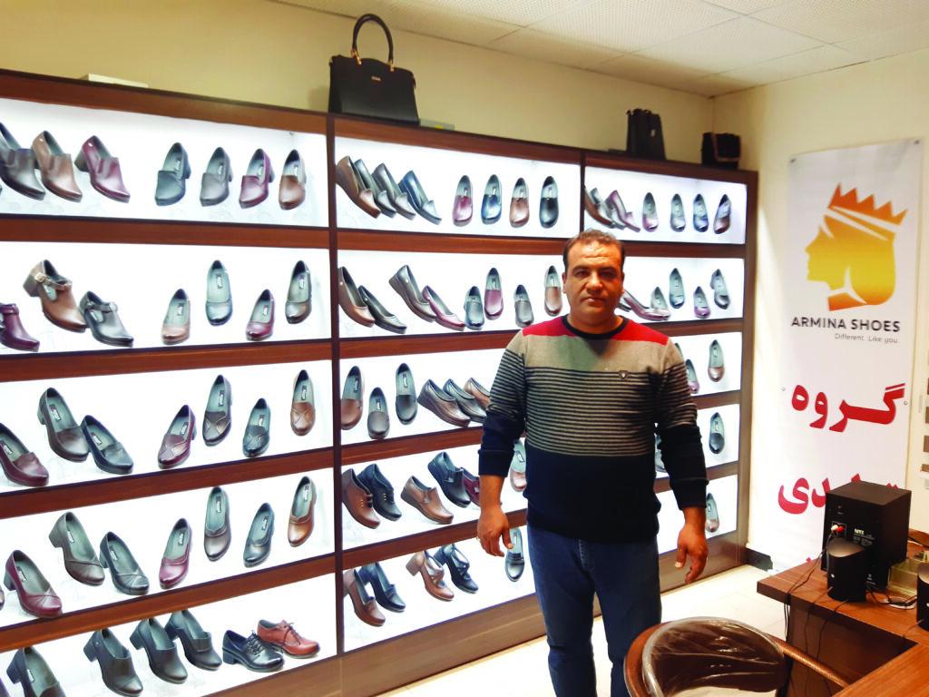 کفش آرمینا در سلیمانیه عراق