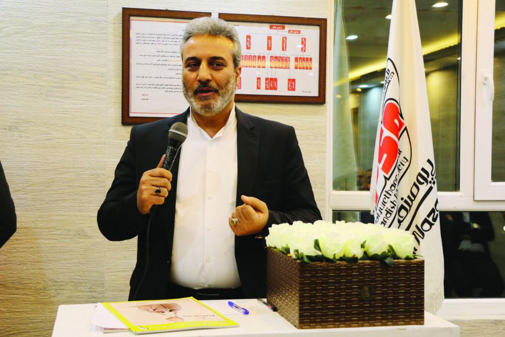 احمد گازرانی، رئیس اتحادیه کفش همدان