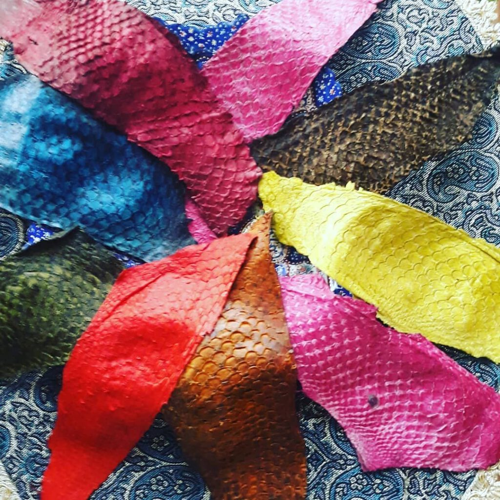 مزیت های استفاده از چرم ماهی در تولید منسوجات چرمی
