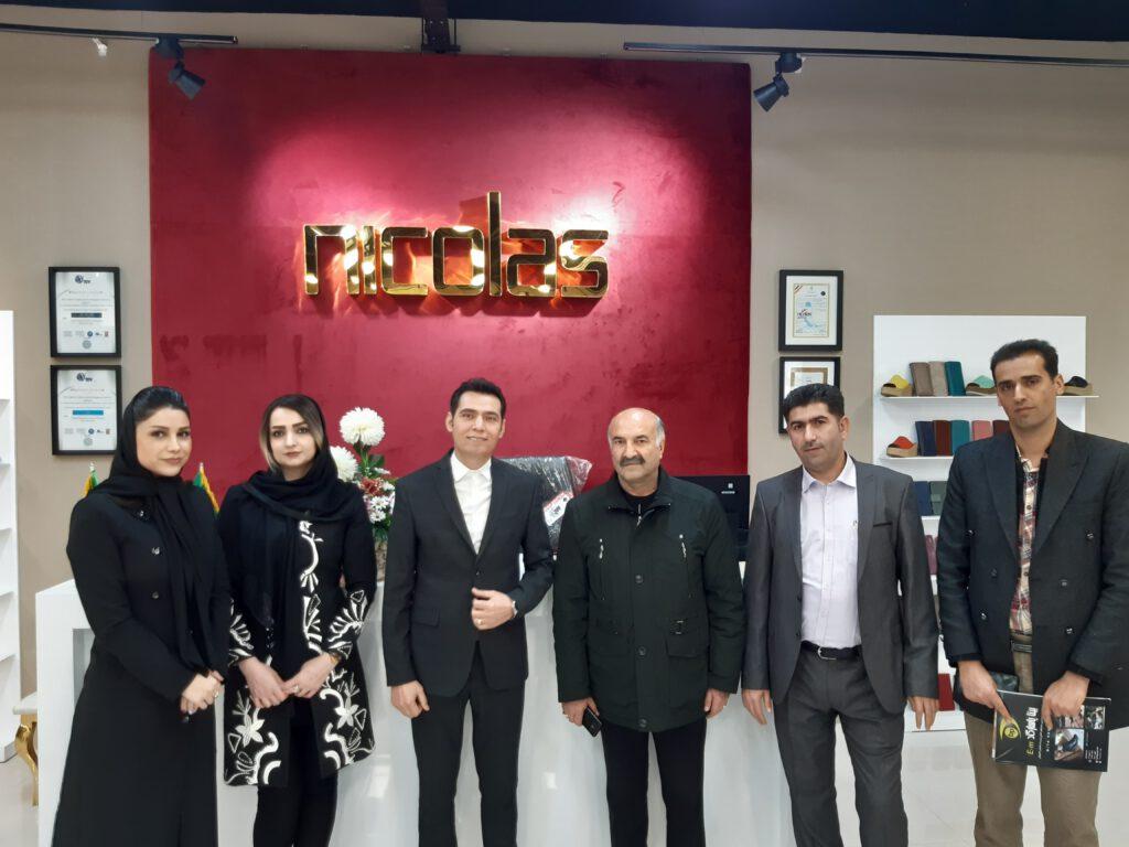 افتتاح فروشگاه چرم نیکلاس در ارومیه