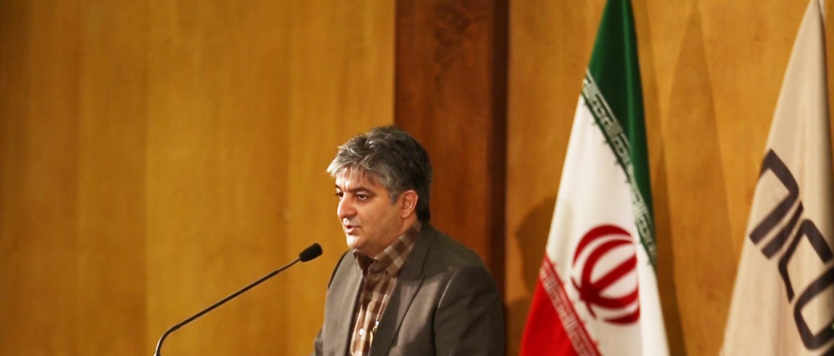 افشین شادی مهر مدیر مسئول مجله اخبار صنعت