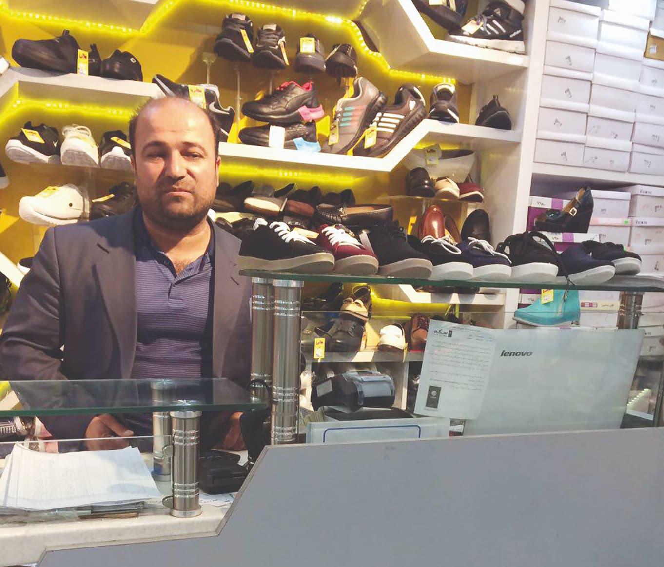 مسعود مودتی- رئیس اتحادیه لوازم جانبی کفش تبریز