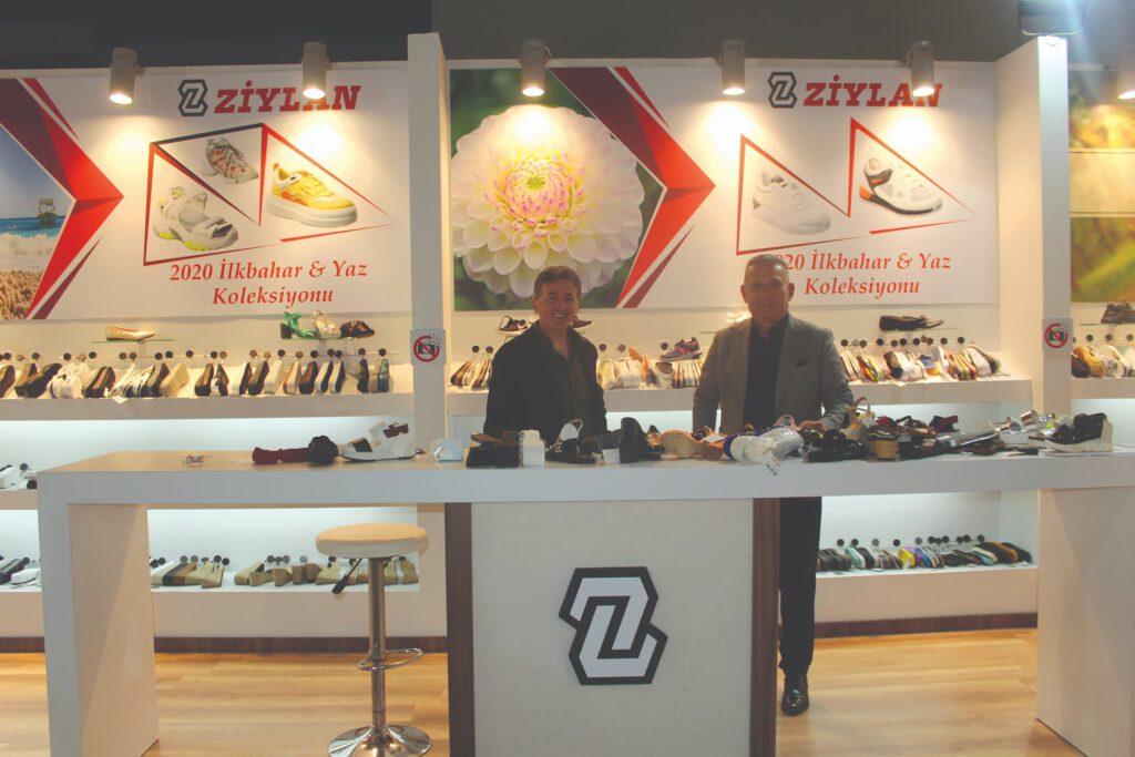زیره کفش زیلان و مدلهای جدیدش در نمایشگاه آیسف
