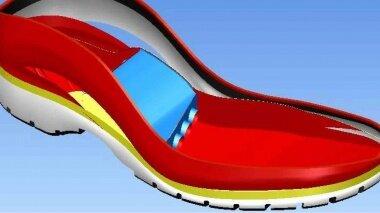 ساخت نمونه اولیه کفش ورزشی با مکانیزم هیدرولیکی در بیرجند
