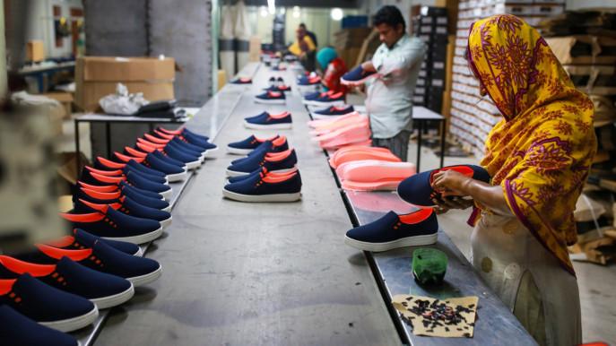 کاهش 40 درصدی صادرات کفش هندوستان